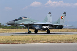 MiG-29 Fulcrum in service with the Bulgarian Air Force